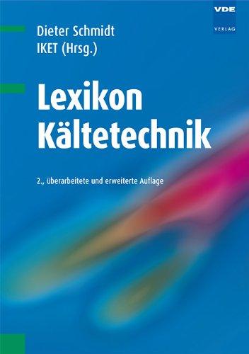 9783800732623: Lexikon Kältetechnik