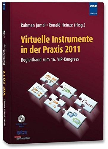9783800733293: Virtuelle Instrumente in der Praxis 2011