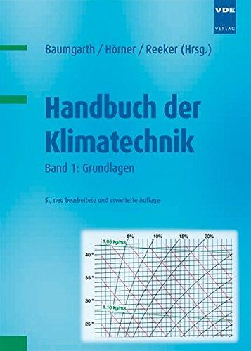 9783800733309: Handbuch der Klimatechnik: Band 1: Grundlagen