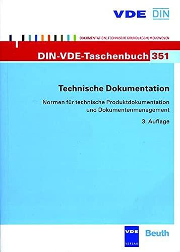 9783800733781: Technische Dokumentation: Normen für technische Produktdokumentation und Dokumentenmanagement