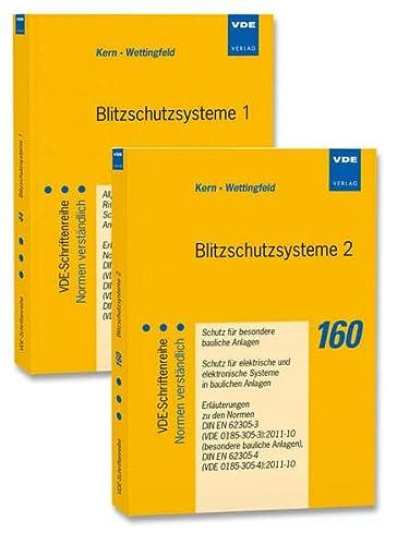 Blitzschutzsysteme 1 - Blitzschutzsysteme 2 (Set). 2 Bände: Alexander Kern