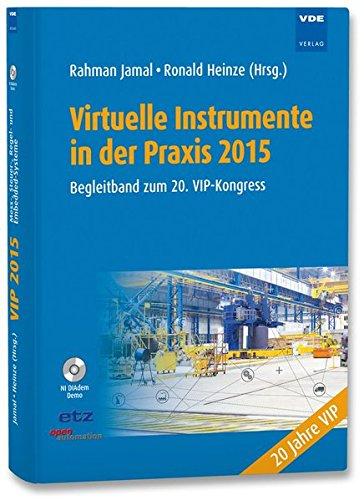 9783800736690: Virtuelle Instrumente in der Praxis 2015: Begleitband zum 20. VIP-Kongress