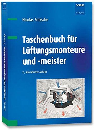 9783800739813: Taschenbuch für Lüftungsmonteure und -meister