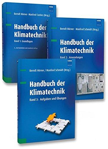 Handbuch der Klimatechnik. 3 Bände: Berndt Hörner