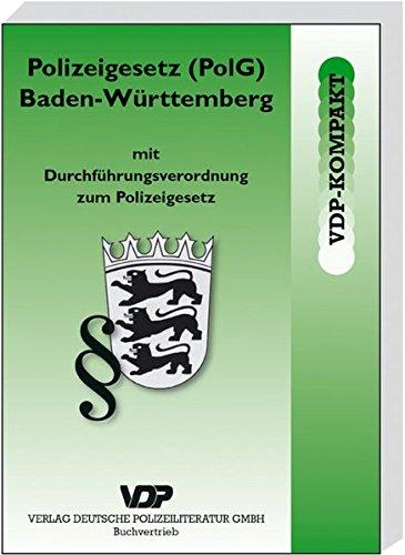 9783801105419: Polizeigesetz (PolG) Baden-W+�-+rttemberg