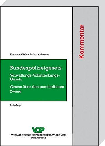 Bundespolizeigesetz: Dietrich Heesen