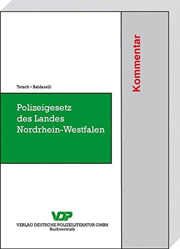 Polizeigesetz des Landes Nordrhein-Westfalen: Lambert Josef Tetsch