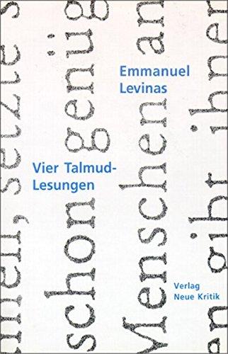 9783801502621: Vier Talmud-Lesungen