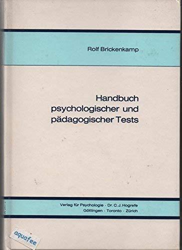 Brickenkamp Handbuch psychologischer und pädagogischer Tests, 2 Bde., Bd.1: Braehler, Holling ...