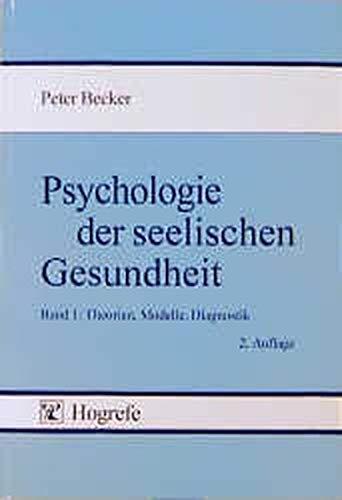 9783801701857: Psychologie der seelischen Gesundheit (German Edition)