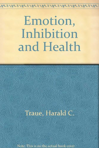 Stock image for Emotion, Inhibition, and Health for sale by Better World Books Ltd