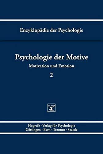 9783801705077: Psychologie der Motive (Enzyklopadie der Psychologie) (German Edition)