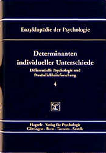 Determinanten individueller Unterschiede: Manfred Amelang