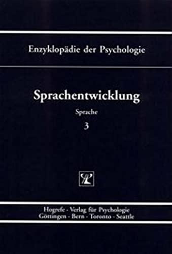Sprachentwicklung: Hannelore Grimm