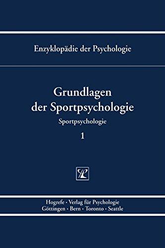 Grundlagen der Sportpsychologie 1: Wolfgang Schlicht