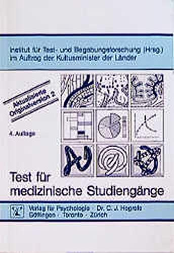 9783801709204: Test Fur Medizinische Studieng