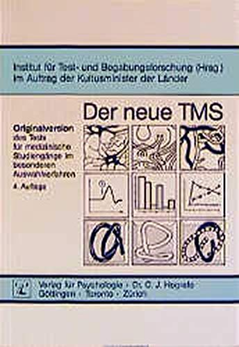 9783801709211: Der neue TMS: Originalversion des Tests für medizinische Studiengänge im besonderen Auswahlverfahren