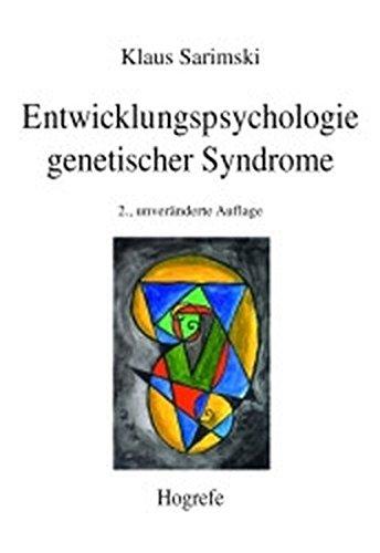 9783801709709: Entwicklungspsychologie genetischer Syndrome