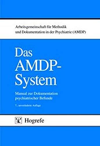 9783801711368: Das AMDP- System. Manual zur Dokumentation psychiatrischer Befunde.