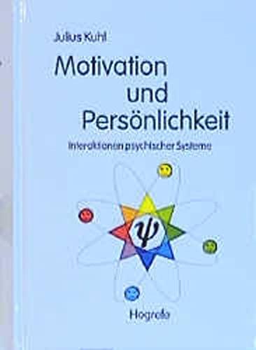 9783801713072: Motivation und Persönlichkeit. Interaktionen psychischer Systeme.