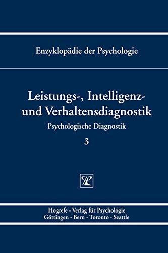 Leistungs-, Intelligenz- und Verhaltensdiagnostik: Lutz F. Hornke