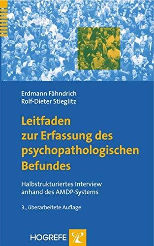 9783801719302: Leitfaden zur Erfassung des psychopathologischen Befundes