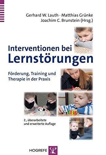 Interventionen bei Lernstörungen: Gerhard W. Lauth