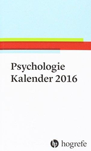 Psychologie Kalender 2016: Hogrefe Verlag