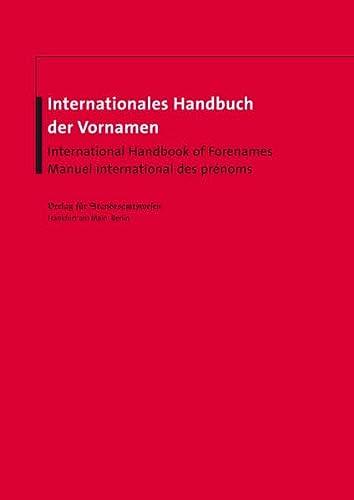 Internationales Handbuch der Vornamen: Otto Nüssler