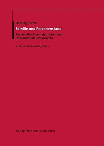 Familie und Personenstand: Anatol Dutta