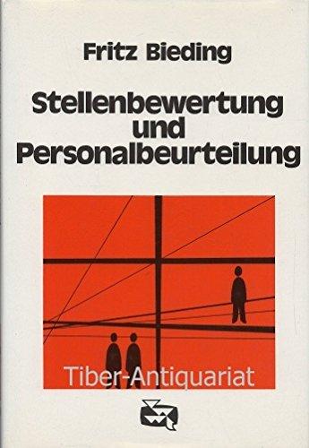 9783802001918: Stellenbewertung und Personalbeurteilung (Buchreihe ...
