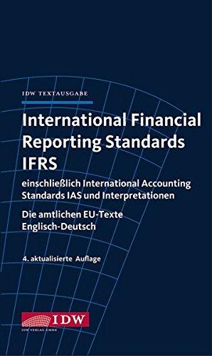 International Financial Reporting Standards IFRS 4., aktual.: Institut d. Wirtschaftsprüfer