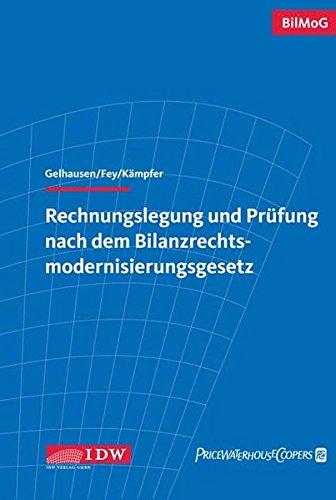 9783802113604: Rechnungslegung und Pr�fung nach dem Bilanzrechtsmodernisierungsgesetz