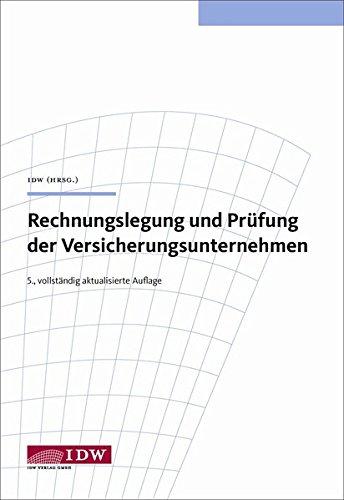 Bögle, M: Rechnungslegung Versicherungsunternehmen: Bögle, Manfred; Ellenbürger,