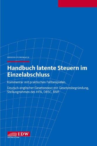 9783802118005: Handbuch latente Steuern im Einzelabschluss