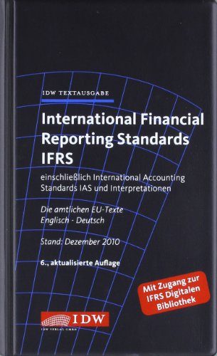 9783802118043: International Financial Reporting Standards IFRS