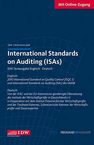 9783802118227: International Standards on Auditing ISA