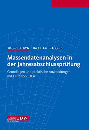 Massendatenanalysen in der Jahresabschlussprüfung: Michael Goldshteyn