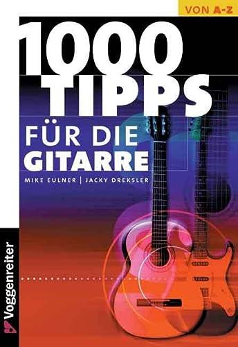 9783802400940: Tausend Tips für die Gitarre.