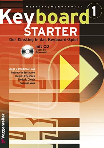 9783802402319: Keyboard-Starter, m. CD-Audio, Bd.1