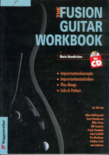 9783802402586: The Fusion Guitar Workbook. Inkl. CD.