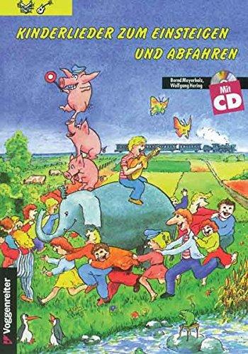 9783802402609: Kinderlieder zum Einsteigen und Abfahren 1. Inkl. CD.