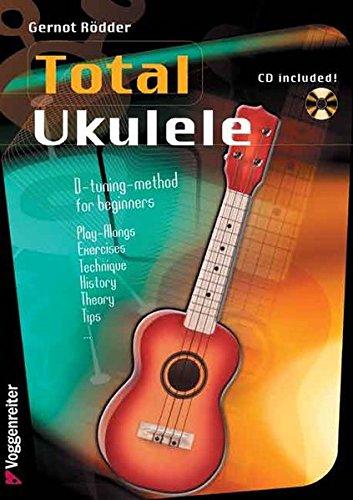 9783802404467: Total Ukulele D-Tuning Method for Beginners