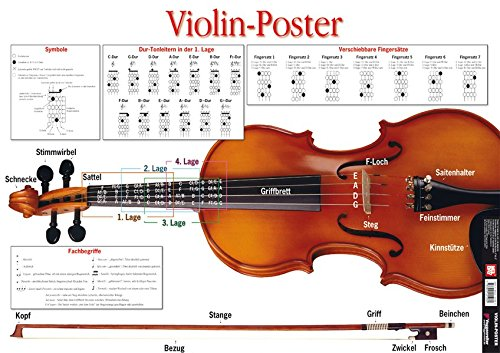 9783802405082: Violin Poster. Violine