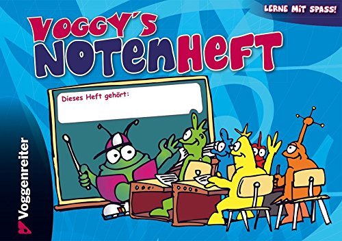 9783802405549: Voggy s Notenheft (Blanko-Notenheft)