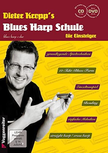 9783802406591: Blues Harp Schule