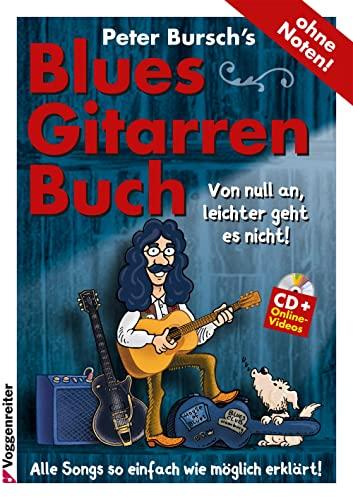 9783802407703: PB's Bluesgitarrenbuch (CD+DVD)