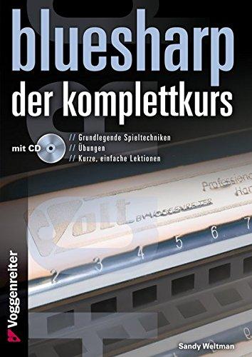 9783802409790: Bluesharp - Der Komplettkurs (CD): Leg' sofort los - ohne Noten! Für Mundharmonikas in C-Stimmung