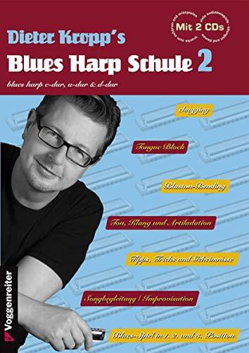 9783802410291: Kropp's Blues Harp Schule Bd. 2 (2CD) FSC Mix, SGSCH-COC-050055