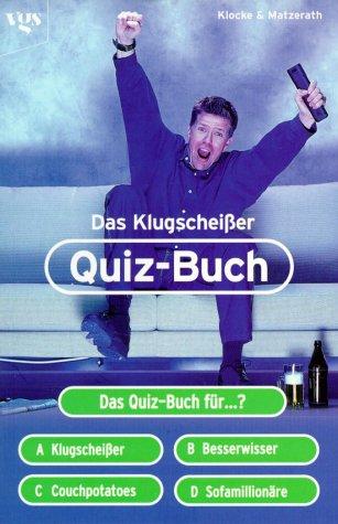 9783802529016: Das KlugscheiÃ?er-Quiz-Buch